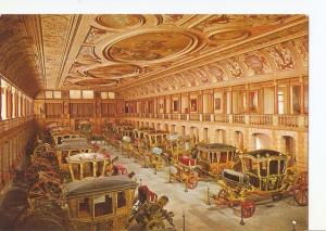 Postal 028577 : Aspecto do Salao dos Coches, The Great Hall Room of the Coach...