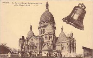 PARIS - Le Sacre-Caeur de Montmartre et la Savoyarde, France, 00-10s