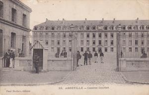 ABBEVILLE , France , PU-1906 ; Caserne Coubert