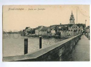 150794 GERMANY FRIEDRICHSHAFEN Seehafen Vintage postcard