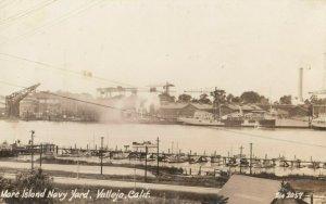 RP: VALLEJO , California , 1930-40s ; Mare Island Naval Yard ; ZAN 2057