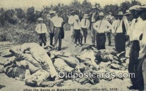 Battle of Matamoros - June 4th 1918 Mexican War Unused light wear