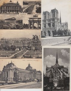 PARIS  5000 Cartes Postales 1900-1940 with BETTER