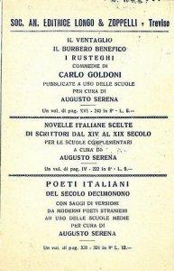 09593 - CARTOLINA d'Epoca - TREVISO Citta': PUBBLICITARIA 1927