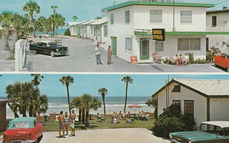 DAYTONA BEACH, Florida , 1950-60s , Oasis Beach Cottages