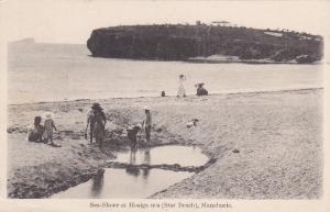 Sea-Shore At Hosiga-Ura (Star Beach), MANCHURIA, Northeast China, 1900-1910s