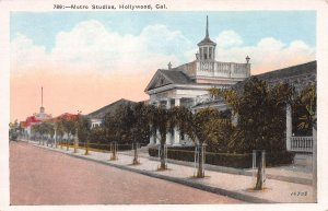 Metro Studios, Hollywood, California, Early Postcard, Unused