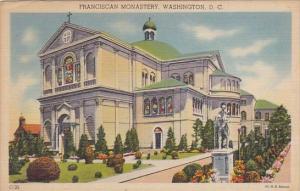 Washington DC Franciscan Monastery 1947