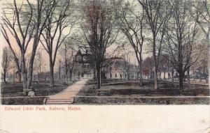 AUBURN, Maine, PU-1913; Edward Little Park