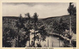Clarion River Near Clarion Pennsylvania
