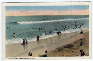 Hampton Beach, N.H., Surf Bathing