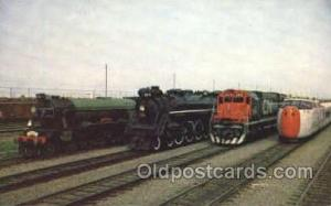 Canadian National RW Train Trains, Postcard Postcards  Canadian National RW