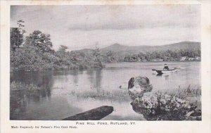 Pine Hill Pond Rutland Vermont