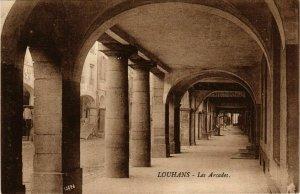 CPA Louhans Les Arcades FRANCE (952927)