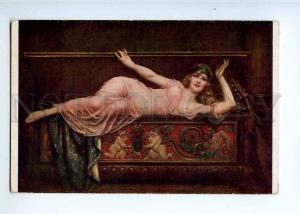 226690 HAREM Nude BELLE Slave MANDOLIN by KAVEL Salon LAPINA