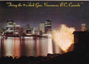 Canada Vancouver Firing The 9 O'Clock Gun