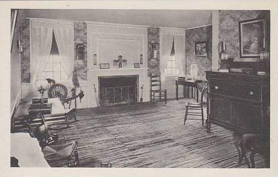 Michigan Farmington Sitting Room At The Botsford Tavern Albertype