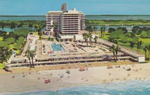 Eden Roc Hotel , Miami Beach , Florida , 40-60s