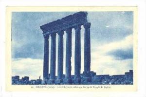BAALBEK (Syrie)  Colonnes, Temple de Jupiter 00-10s