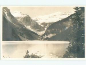 old rppc NICE VIEW Banff Alberta AB W0851