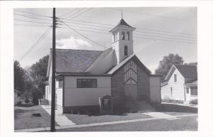 Illinois Durand Trinity Lutheran Church Real Photo