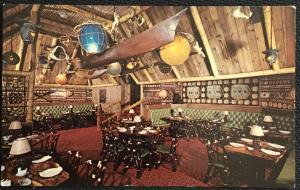 Postcard Unused Trader Vic's at Statler Hilton Boston MA LB