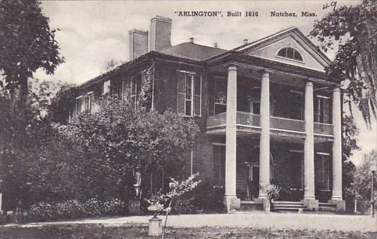Mississippi Natchez Arlington Built 1916