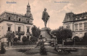 Bismark Denkmal,Wiesbaden,Germany BIN