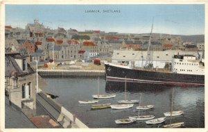uk41206 lerwick shetland scotland  uk ship bateau
