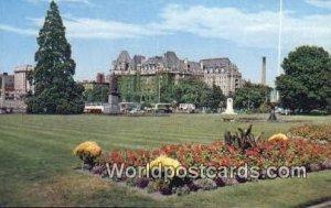 Empress Hotel, Parliament Buildings Victoria British Columbia, Canada Unused