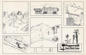 MESQUITE , Nevada , 50-60s ; Peppermill Resort Hotel-Casino