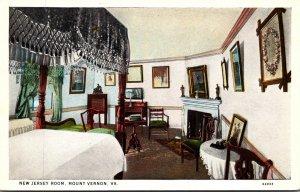 Virginia Mount Vernon The New Jersey Room Curteich