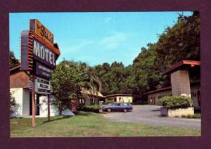GAINESVILLE FLORIDA FL Sands Motel PC Postcard