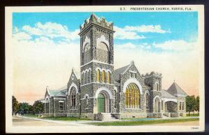 Presbyterian Church Eustis FL unused c1915