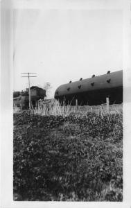 Lemars Iowa~Train Derailment?~Railroad~1920 RPPC Real Photo Postcard