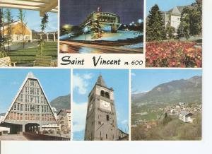 Postal 033863 : Saint Vincent. Stazione climatica e di Villeggiatura