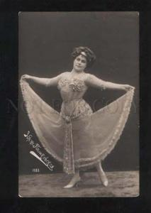 060518 PASHKOVSKAYA Russian Singer BELLY DANCER vintage PHOTO