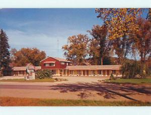 Unused Pre-1980 HOLIDAY MOTEL Prarie Du Chien Wisconsin WI u3716