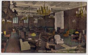 English Room, Fort Pitt Hotel, Pittsburg PA