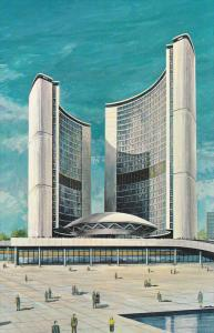 New City Hall , TORONTO , Ontario , Canada , 50-60s