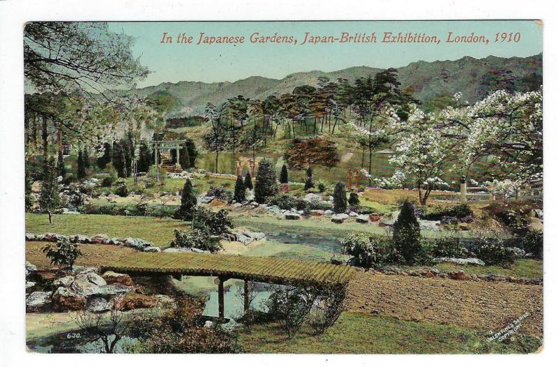 1910 Great Britain Photo Postcard - Japan-British Exhibition (ZZ71)