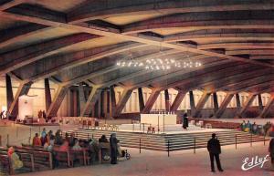 France Lourdes La Basilique Souterraine St. Pie X The Underground St. Pius X