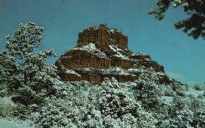 South of Sedona, Arizona, AZ, Bell Rock, Chrome Vintage Postcard g5721