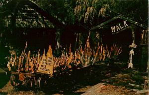 Tom Gaskins Cypress Knee Museum Palmdale Florida FL Chrome