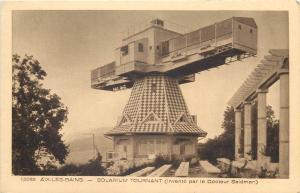 France Aix les Bains Solarium Tournant invente lar le Docteur Saidman