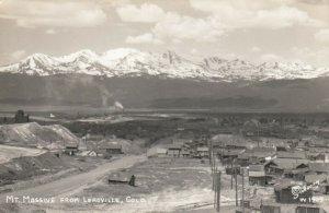 RP: LEADVILLE , Colorado , 30-40s ; Mt Massive #1