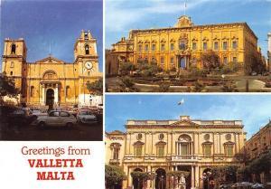 Malta Greetings from Valletta City multiviews