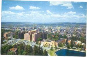 Air View Spokane Washington WN