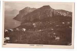 Italy Capri Panorama Vera Fotografia RPPC Real Photo ca1930s