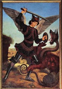 Postcard Art Firenze Museum Bardini Saint Angelo di Arezzo, Nova Lux No.437 #F